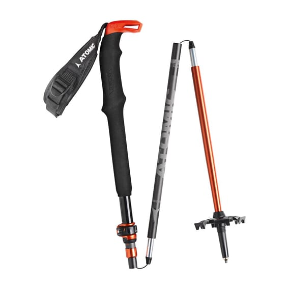 Atomic Bct Mountaineering Carbon 115-135 Teleskopstav
