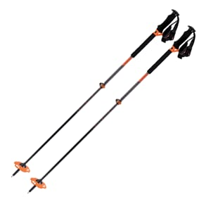 K2 Lockjaw Carbon Plus 105-145 cm Teleskopstav Oransje
