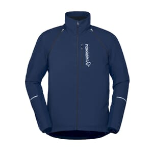 Norrøna Fjørå Convertible Alpha60 Jacket Herre Indigo Night