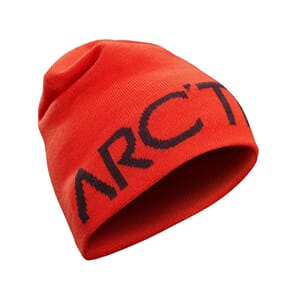 Arcteryx Word Head Long Toque Hard Coral/Crimson