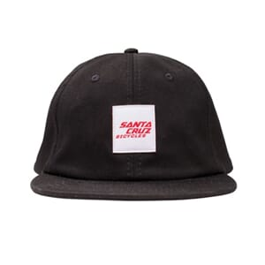 Santa Cruz Wrigley Hat Black
