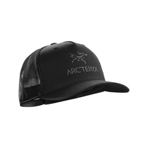 Arcteryx Logo Trucker Hat Black
