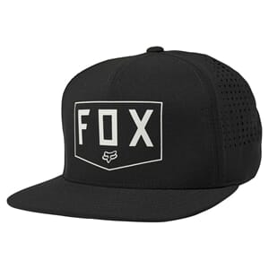 Fox Shielded Snapback Caps Black