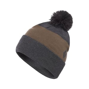 Black Diamond Pom Beanie Smoke/Walnut