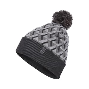 Black Diamond Pom Beanie Grey Icon