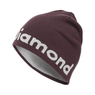 Black Diamond Brand Beanie Bordeaux/Aluminum
