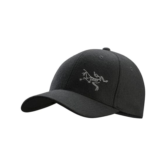 Arcteryx Wool Ball Cap Black Heather