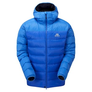 Mountain Equipment Skyline Hooded Dunjakke Lapis Blue/Finch