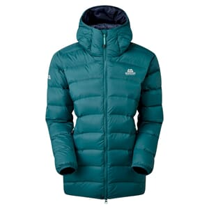Mountain Equipment Skyline Hooded Dunjakke Dame Deep Teal