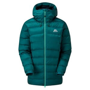 Mountain Equipment Senja Dunjakke Dame Deepteal/Deepteal