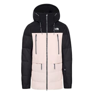 The North Face Pallie Down Isolasjonsjakke Dame Blk/Morngpnk