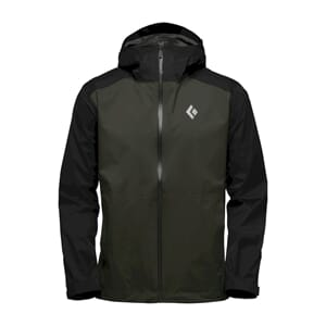 Black Diamond Stormline Stretch Rain Sykkeljakke