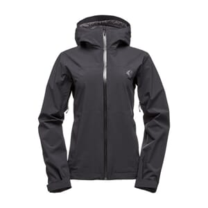 Black Diamond W Stormline Stretch Rain Shell Sykkeljakke
