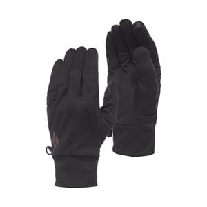 Black Diamond Lightweight Wooltech Gloves Anthracite