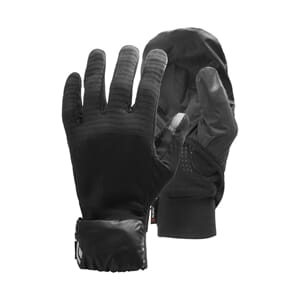 Black Diamond Wind Hood Gridtech Gloves Black