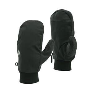 Black Diamond Midweight Softshell Mitts Smoke