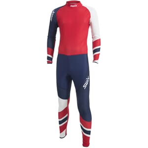 Swix RaceX 1-pcs skidress, herre 16/17 Red Elite