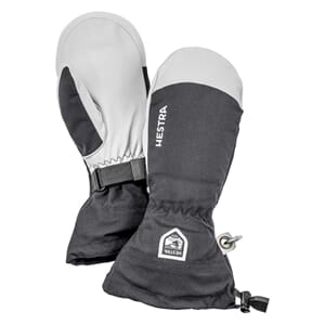 Hestra Army Leather Heli Ski Mitt Votter Svart