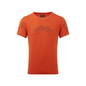 Mountain Equipment Groundup Mountain Tee T-Skjorte Paprika