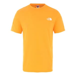 The North Face SS Simple Dome T-Skjorte Orange