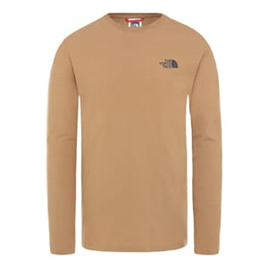 The North Face L/S Graphic T-Skjorte Utility Brown