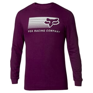 Fox Drifter LS Tech T-skjorte Dark Purple