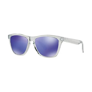 Oakley Frogskin Polished Clear m/Violet Iridium