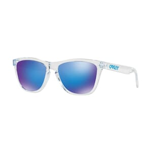 Oakley Frogskins Polished Clear m/Sapphire Iridium