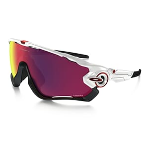 Oakley Jawbreaker Polished White m/Prizm Road