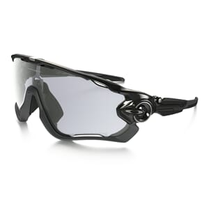 Oakley Jawbreaker Polished Black m/Clear Black Photocromatic
