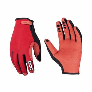 POC Index Air Adjustable hansker Zirconium Red