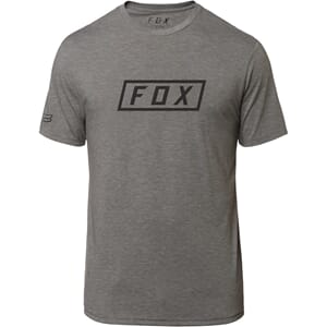 Fox Boxer SS Tech Tee Heather Graphite