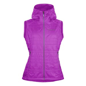 Norrøna Lyngen Alpha100 Vest Woman Pumped Purple