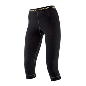 Devold Wool Mesh Woman 3/4 Long Johns Black