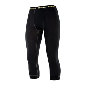 Devold Wool Mesh Man 3/4 Long Johns Black
