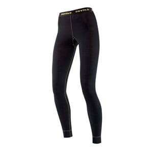 Devold Wool Mesh Woman Long Johns Black