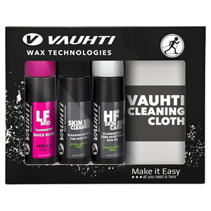 Vauhti Quick Kit Glide, Clean & Care + Polishing Cloth