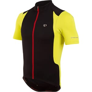Pearl Izumi Select Quest Shortsleeve Black/Lime Punch