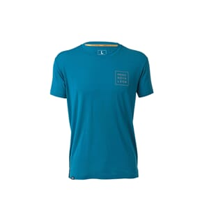 Mons Royale Primo T Square Blue Steel T-Shirt
