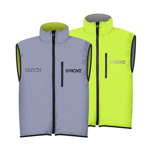 Proviz Switch Gilet Yellow/Reflective Sykkelvest
