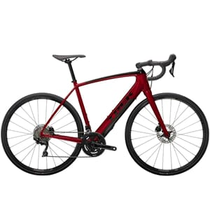 Trek Domane+ ALR Elsykkel 2021 Crimson Red/Trek Black