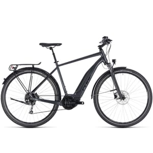 Cube Touring Hybrid One 500 Elsykkel 2018 Irridium´N´Black