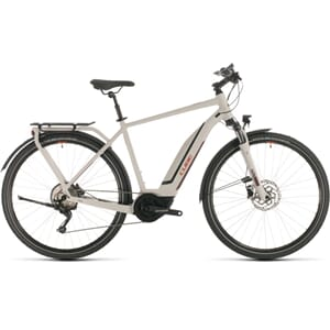 Cube Touring Hybrid Pro 500 2020 Elsykkel Grey´N´Red