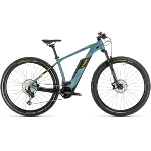 Cube Reaction Hybrid Race 500 Elsykkel 2020 Blue´N´Green