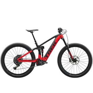 Trek Rail 9.8 GX 2020 Fulldempet Elsykkel Black/Viper Red