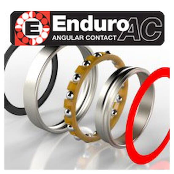 Enduro Angular Contact 71902 2Rs Kulelager 15 X 28 X 7