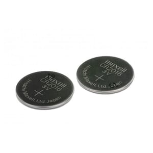 Bosch Purion Button Cell Battery, CR2016, 90mAh, 2 pieces
