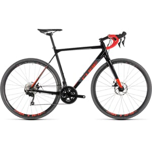 Cube Cross Road Race 2019 Cyclocross Black N Red