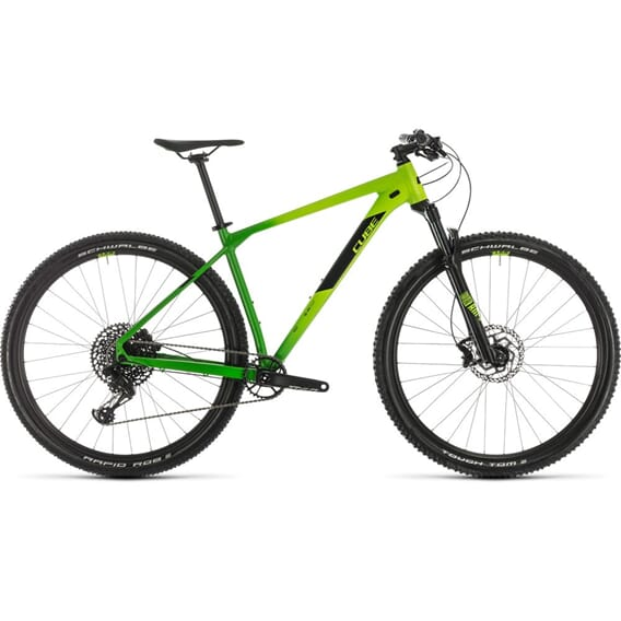 Cube Reaction Race Terrengsykkel 2020 Green´N´Black