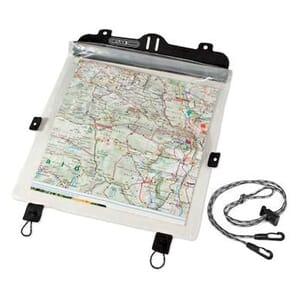 Ortlieb Map Case for Ultimate6 M (cord fixing) transparent